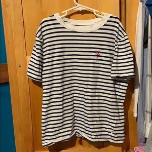 Roxy striped t shirt